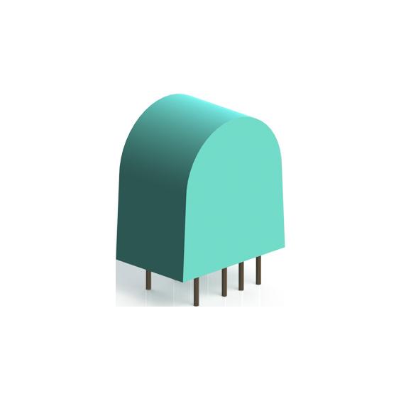 miniature current transformer pcb mount